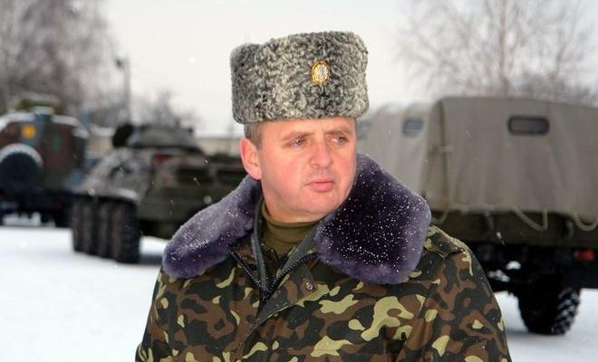 Ви́ктор Никола́евич Муже́нко — украинский военный деятель, генерал-полковник. Начальник Генерального штаба