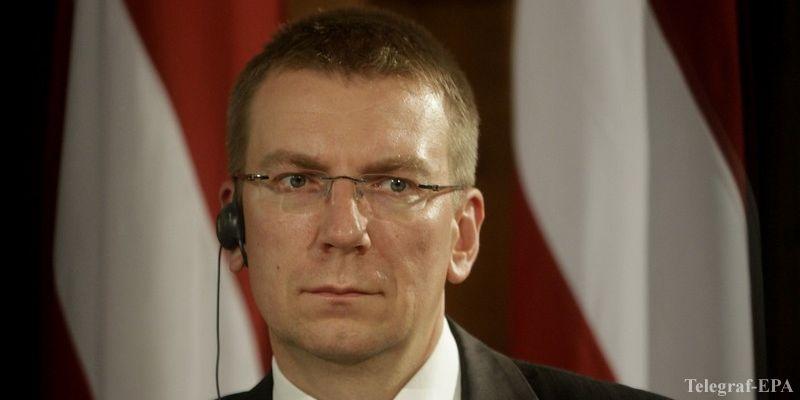 Министр иностранных дел Латвии Эдгар Ринкевич